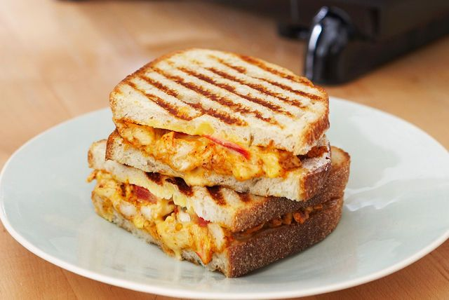 This cheesy chicken salad panini with a Southwestern kick will make you walk away from plain, boring sandwiches forever.