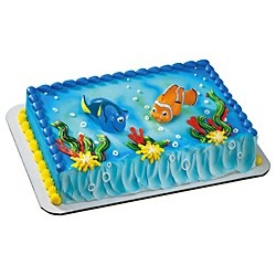 Finding Nemo cake from Publix :)