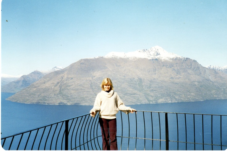 me in New Zealand '81