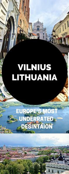 Why Vilnius, Lithuania is Europe's Most Underrated Destination. Click the pin to read the post from www.flirtingwiththeglobe.com