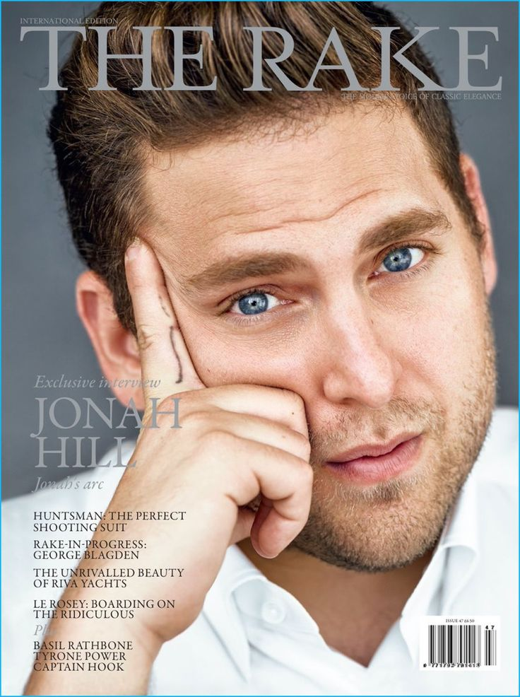 Jonah Hill covers the latest issue of The Rake.