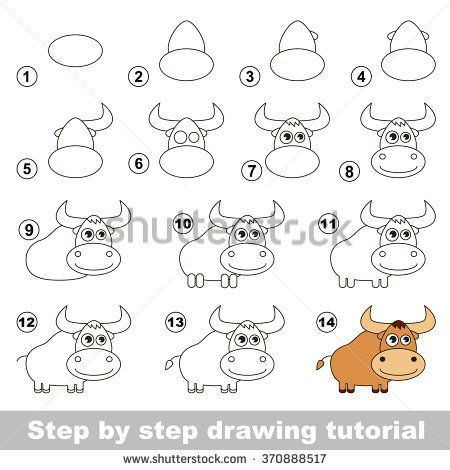 How To Draw A Yak Nono Pinterest Drawings Art And Art Tutorials