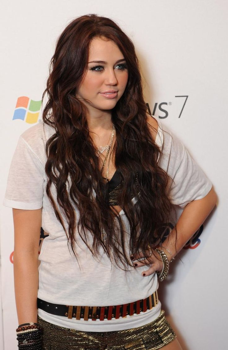 miley cyrus hair color