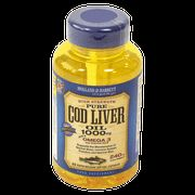 Holland & Barrett Cod Liver Oil Capsules 1000mg