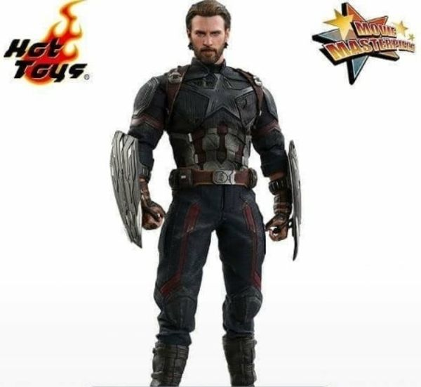 Avengers Infinity War 1 6th Scale Captain America Figure Preview
