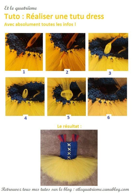 #tutu #dress #robe #raiponce #rapunzel #tuto  #blancheneige #snowwhite 20170217 Tutoriel tutu dress création et tutoriel sur http://etlequatrieme.canalblog.com/archives/2017/02/17/34949186.html