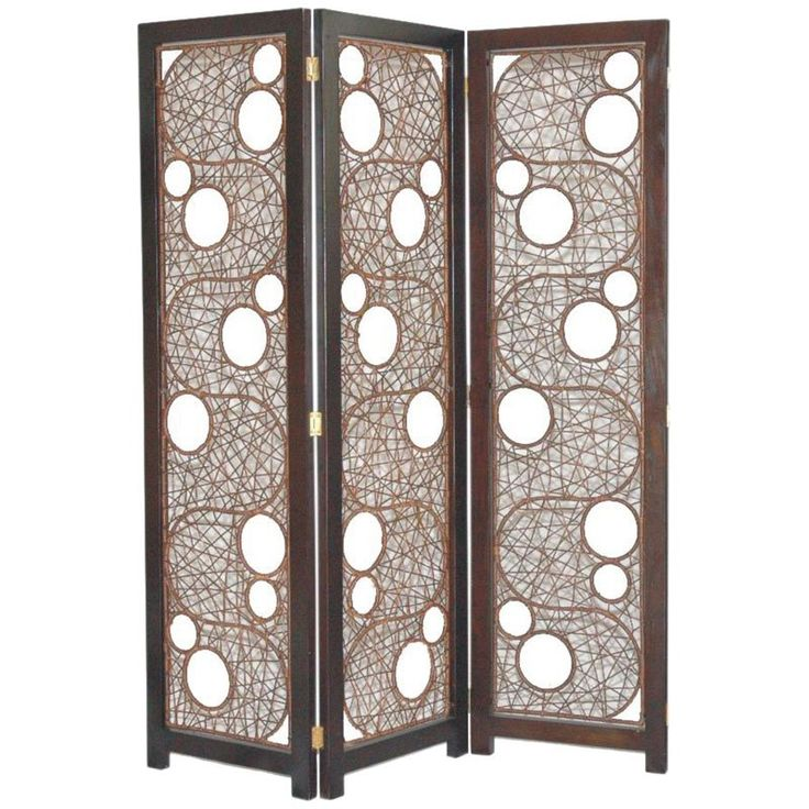 Cascade Wicker and Wood 3 Fold Room Divider Screen - SCR-135 - Best 25+ Folding Room Dividers Ideas On Pinterest Room Divider