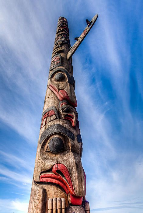 Totem Pole by Tommy Farnsworth - Totem Pole Photograph - Totem Pole Fine Art Prints and Posters for Sale