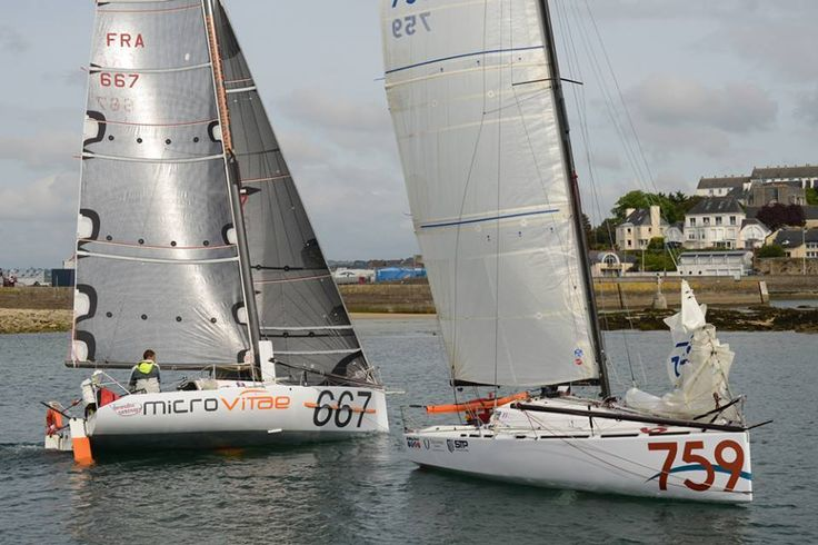 #UPDATE: #MiniTransatRace 2015 with Romain Mouchel-Navigateur At the end of May, Romain headed back to France to prepare for the 3rd regatta of the season. Trophée MAP in Douarnenez, which will start the 4th of June: 250 miles single handed. You can follow, Sponsor and keep upto date with Romain's training and races here on: Twitter @Rmouchel_346, Facebook RomainMouchel-Navigateur or his Blog: Romainmouchel.com #wevegotitcovered www.technocraftsl.com