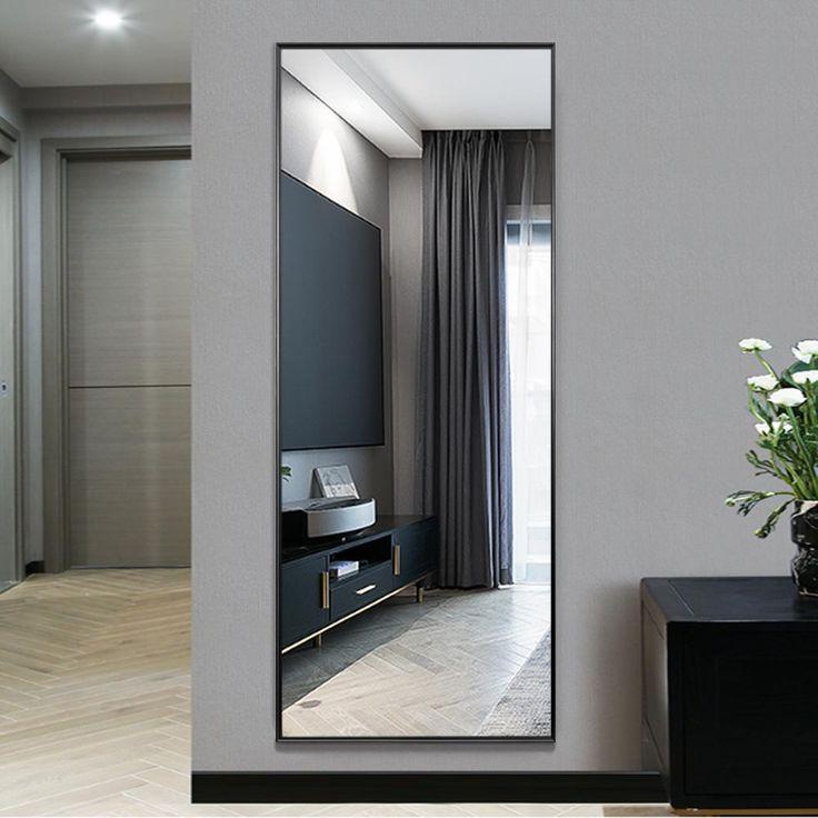 Full Length Floor Mirror, Wall Leaning Full Length Mirror