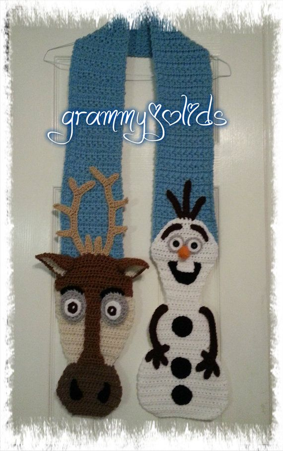 Hey, I found this really awesome Etsy listing at https://www.etsy.com/listing/208754516/snow-friends-scarf