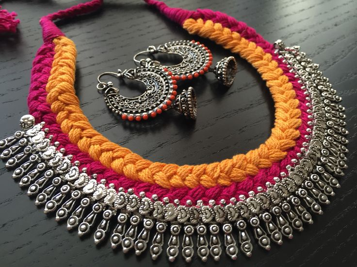 Gorgeous collection of cord necklaces now up for the fun festive season, Fall…
