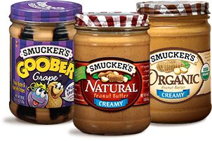 Smucker's Peanut Butter Products