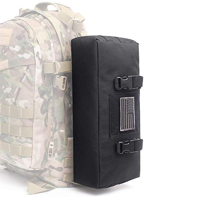 Tactical Battle MOLLE Shoulder Bag Military Assault Crossbody Sling Pack Pouch