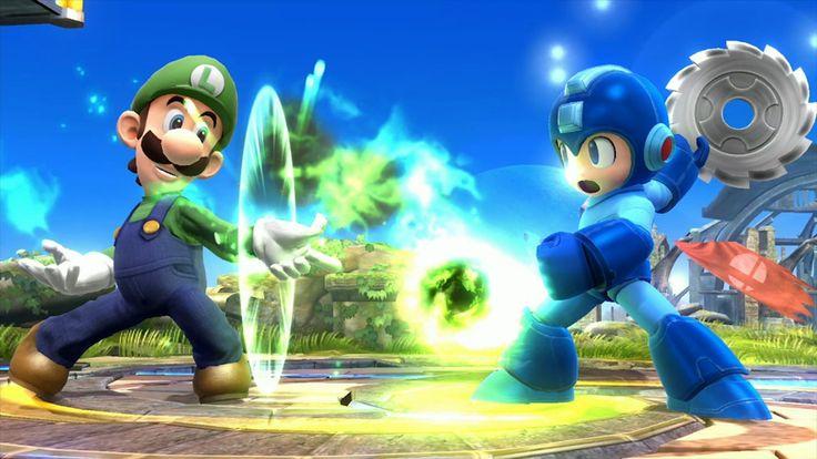 Luigi confirmed for Super Smash Bros Wii U.