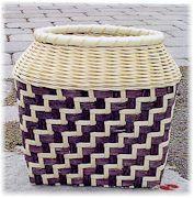 Basket pattern: Branching Twill By Carol Tunnicliffe