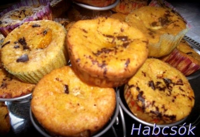 Fahéjas répatorta muffin