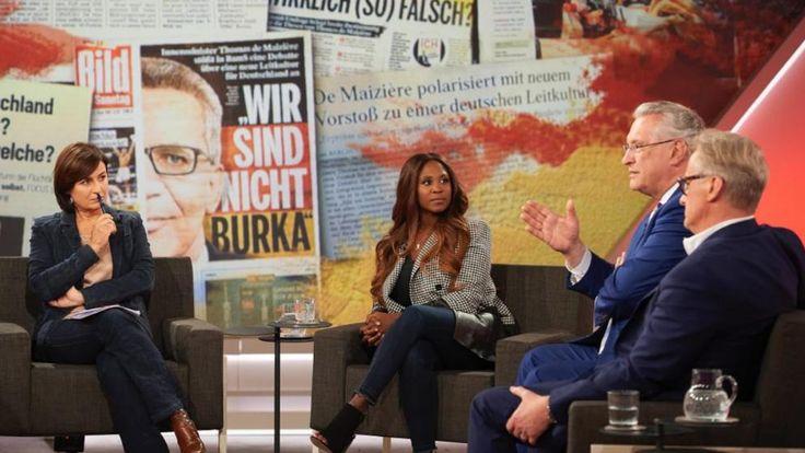 Sandra Maischberger diskutierte mit ihren Gästen über die deutsche Leitkultur: