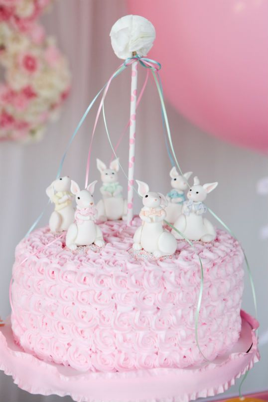 The Party Wagon - Blog - EASTER BUNNY MAY POLE PARTY