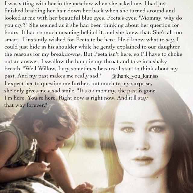Definitely Peeta's daughter.