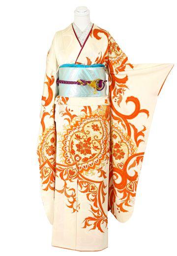 antique kimono #furisode