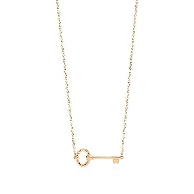 Tiffany Keys:East-west Oval Pendant
