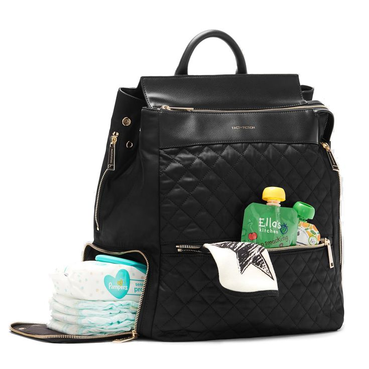 Fact + Fiction Charli Quilt, £135. The ultimate stylish, functional baby bag.