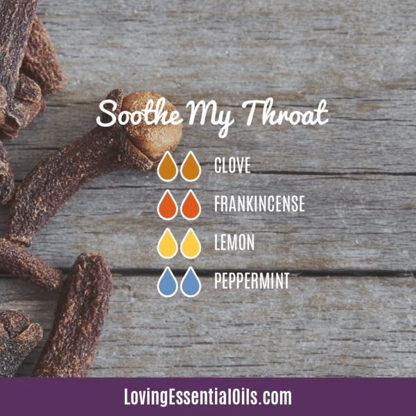 6 Diffuser Blends for Sore Throat