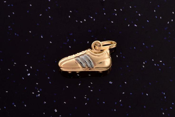 Zlatý přívěsek  kopačka P056 0,50g