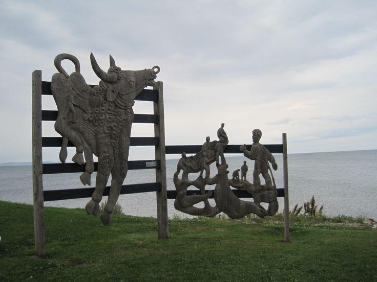 Artisan du sable, Havre-Aubert Iles-de-la-Madeleine