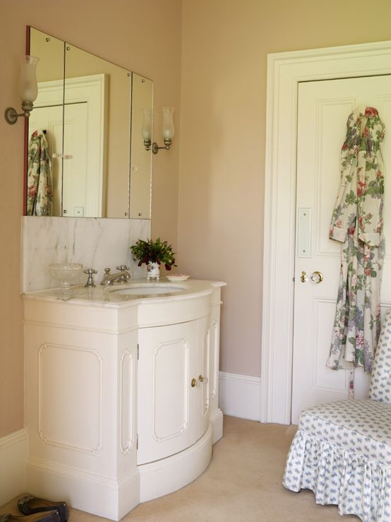 Www Angelandblume Com Lovely Traditional Bathroom Painted