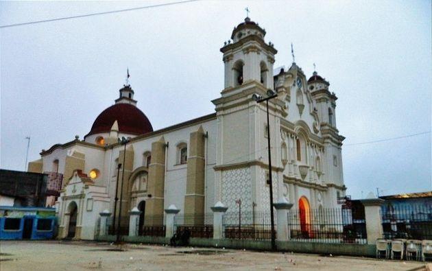 Santuario de la Virgen de Juquila, en Oaxaca.