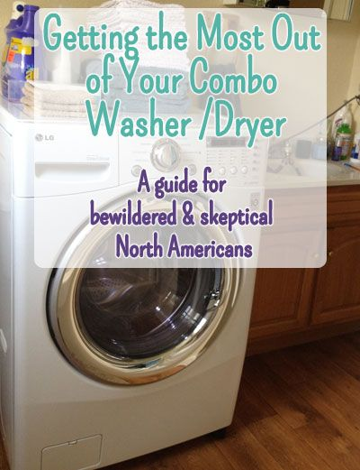 Tips and Tricks For Getting the Most Out of Your Combo Washer Dryer