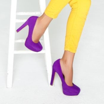 63 best Purple & Yellow images on Pinterest | Woman fashion, Work ...