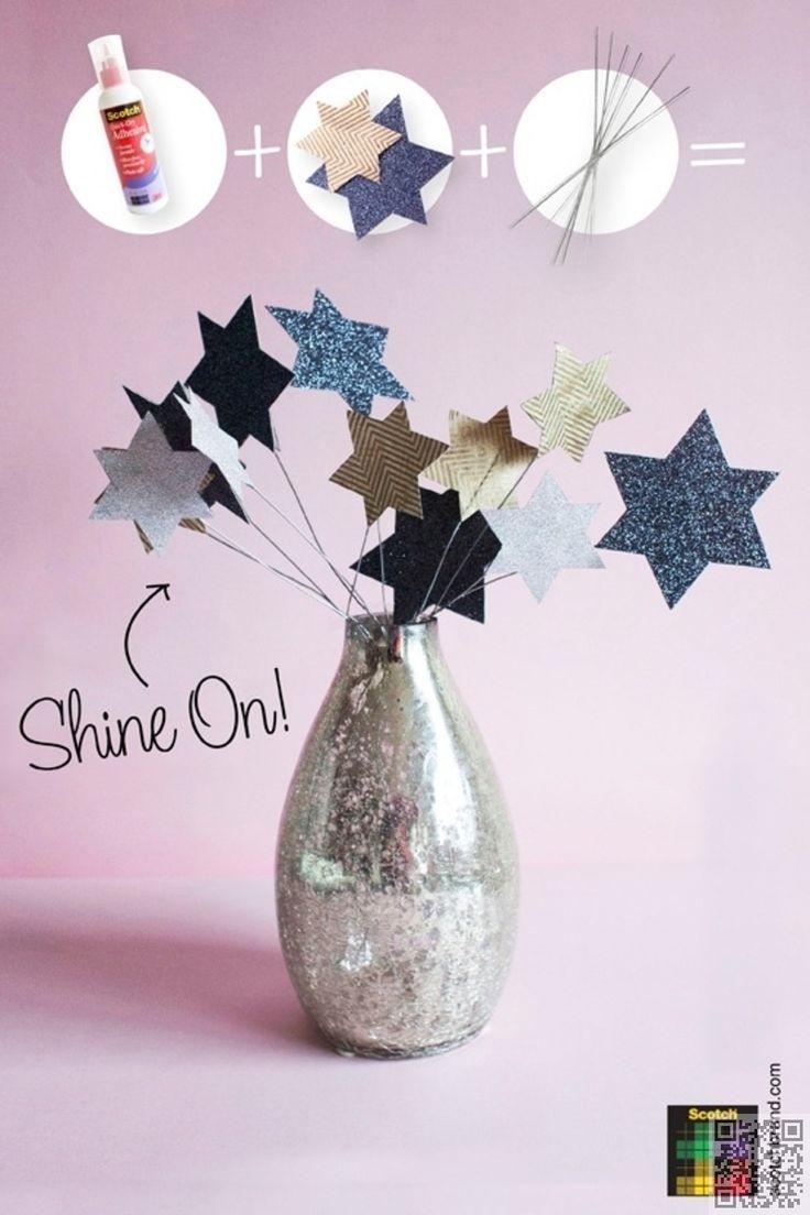 19. Star of #David Centerpiece - 31 #Crafts and DIY Decorations for Hanukkah ... → DIY #Hanukkah