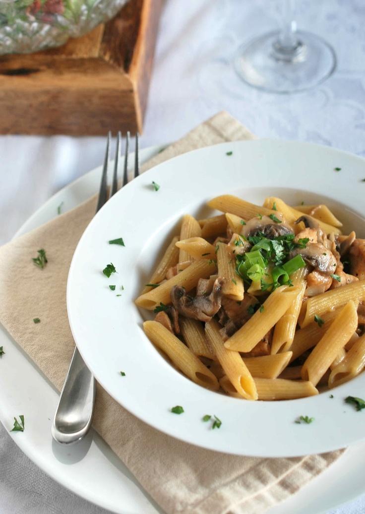 Creamy chicken marsala pasta   Dinner   Pinterest
