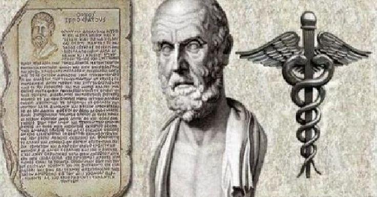 Ο Ιπποκράτης έδωσε το φάρμακο για τον καρκίνο πρίν πολλά χρόνια. Και θα υιοθετήσουμε την τακτική του πανεπιστήμονα Ιπποκράτη ο οποίος μας...