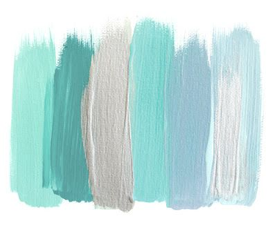 Love these colors for a relaxing, beachy home!!  I can hear the waves already....ahhh!