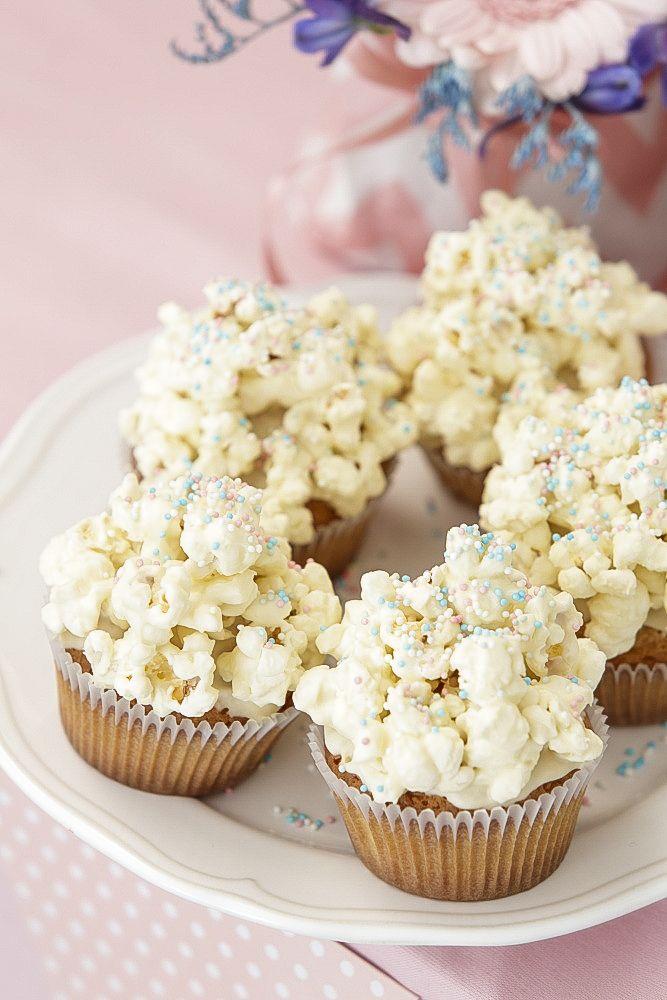 Popcorn-kuppikakut