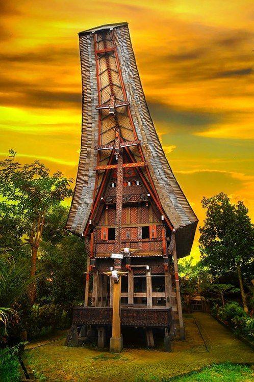 Toraja Architecture, Sulawesi, Indonesia #dearthdesign #austin #texas #luxury #home #builders #association #exteriors  www.dearthdesign.com