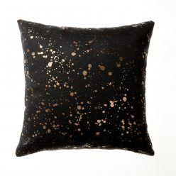 Home Republic Painter Splash Cushion Black, cushions, black cushion
