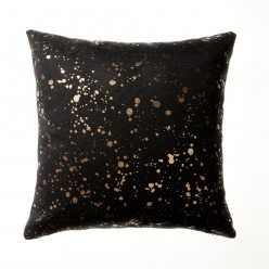 Home Republic Painter Splash Cushion Black, cushions, black cushion