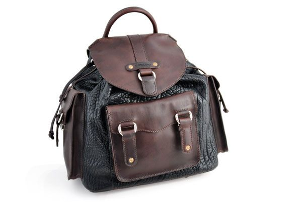 Buffalo Backpack Onyx Walnut  #borlino #style #fashion #menswear #italy