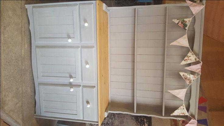 Shabby chic welsh dresser For Sale in Banstead, Surrey   Preloved