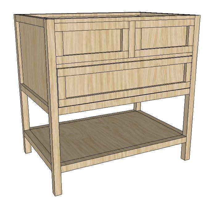 Build a bathroom vanity plans woodworking projects plans - Bathroom vanity plans woodworking ...