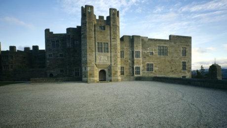 Castle Drogo, Dartmoor, Devon.  A National Trust property.