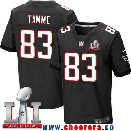 Nike Falcons Jacob Tamme Black Alternate Men's Stitched NFL Elite Jersey,  cheap Atlanta Falcons Jersey, Show your support for your favorite team and  have a ...