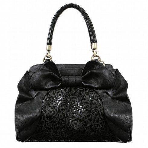 Ooh La La - Ooh La La Bags | Oohlala Handbags | Oohlala Designer Handbags | Oohlala Accessories | Oohlala Jewellery - OL-0221 ROSIE BOW TOTE BAG