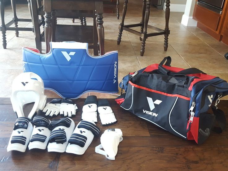 Taekwondo Sparring Gear - By Vision - Size Small