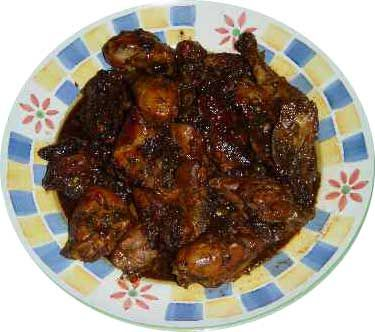 Easy Jamaican Stewed Chicken